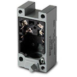"Eaton E51RCB Photoelectric Sensor, Receptacle, Black, 4 Wire, AC, 1/2"" NPT"