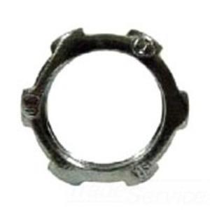 """Hubbell-Raco 1002 Conduit Locknut, 1/2"""", Steel"""