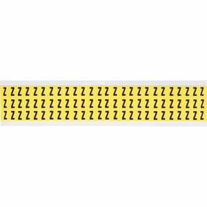 3410-Z 34 SERIES NUMBER & LETTER CARD