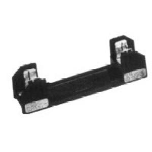 Eaton/Bussmann Series R25060-1CR Fuse Block, Class R, 1-Pole, 31-60A, 250V, Box Lug Terminal w/Clip