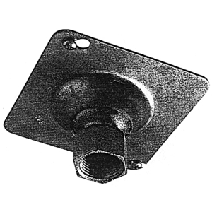 "Steel City SH-1/2-3/4 Swivel Hanger, 1/2 to 3/4"" Threaded Pipe Fixture, Steel"