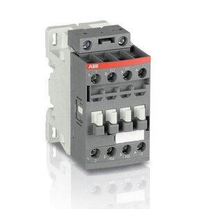 ABB AF09-30-10-13 Contactor, 25A, 3P, 600VAC, IEC, 100-250V AC/DC Coil