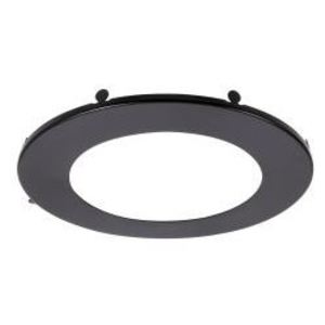 SYLVANIA LEDMD6TRIMBLK Black Trim Ring for 6-inch Microdisk