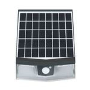 Light Efficient Design RP-SWL-7W-40K-BK-G1 LED Solar Wall Pack