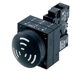 Siemens 3SB3233-7BA10 AUDIBLE INDICATOR 24VDC IP65 2.4KHZ