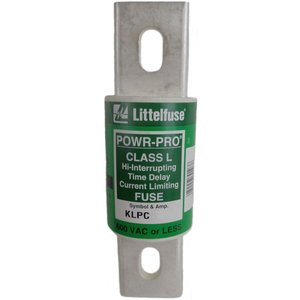 Littelfuse KLPC700 700A, 600VAC/480VDC, Class L Time Delay Fuse