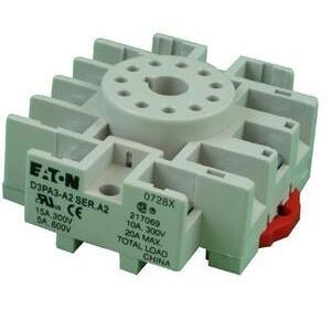 Eaton D3PA3 Socket, Octal, 11 Pin, Screw & Clamp Terminals