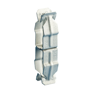 """nVent Caddy 8P8P Conduit to Conduit Clip, 1/2"""" to 1/2"""", Steel"""