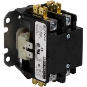 Square D 8910DP12V09 Definite Purpose Contactor, 2-Pole, 20 Amp, 208 to 240 Volt, Open