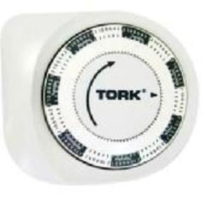 NSI Tork 437R 7-Day Mechanical Timer, Random/Vacation