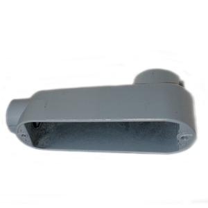 "Mulberry Metal 11805 1-1/2"", Type LB, Aluminum Conduit Body"