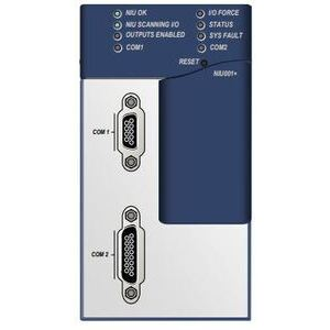 GE IC693NIU004 Network Interface Unit, Ethernet, Ethernet Restart PB, 3 Ports