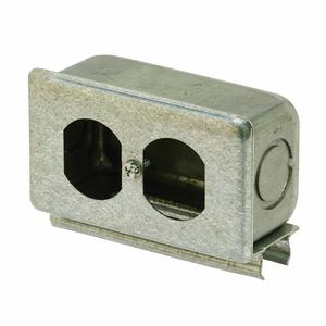 Strut Receptacle Box | Brackets, Connectors | Strut - Fittings