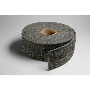 """3M 00278 Clean & Finish Roll, 6"""" x 30"""", Gray, Very Fine Grade"""
