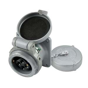Appleton ADR3034 Pin & Sleeve Receptacle, 30 Amp, 4-Pole, 3-Wire