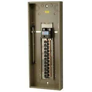 Eaton CH42B200K Load Center, Main Breaker, 200A, 120/240V, 1PH, 42/42, NEMA 1