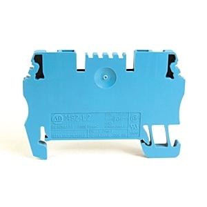 Allen-Bradley 1492-L2-B Terminal Block, Feed Through, 15A, 300V AC/DC, Blue, 4mm