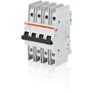 ABB SU204M-K25 Miniature Circuit Breaker, 4 Pole