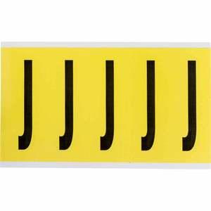 3460-J 34 SERIES NUMBER & LETTER CARD