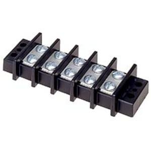 Eaton/Bussmann Series TB400-04 Double Row Terminal Block, 4-Pole, 14-10 AWG