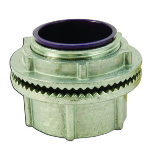 "Appleton HUB125DN Conduit Hub, 1-1/4"", Insulated, Raintight, Zinc Die Cast"