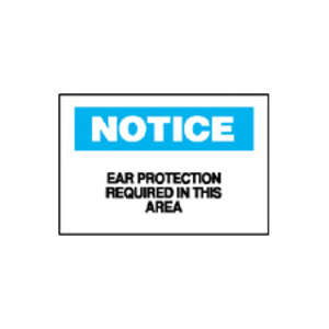 Brady 43066 EAR PROTECTION SIGN