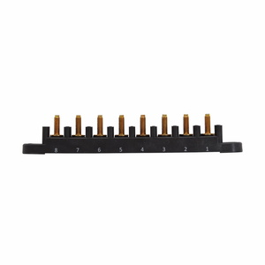 "Eaton/Bussmann Series C5268-1 Fuse Bases, 200A, Stud Height: 1"", Stud Thread: 5/16-18, Base Phenolic"