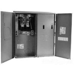 Midwest RS45508C 400A, All-In-One, House Panel with Lever Bypass