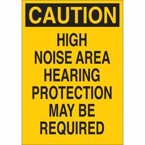 25471 EAR PROTECTION SIGN