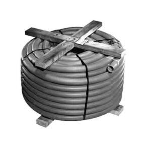 "Carlon 11812-250 Non-Metallic Corrugated Flexible Conduit, 2-1/2"", Gray, 250'"