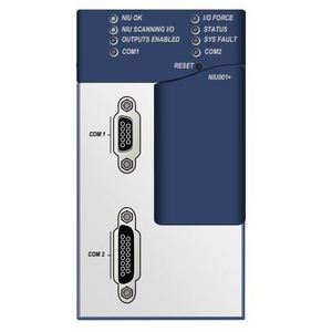 GE IC695NIU001 Network Interface Unit, Ethernet, 10MB Memory, RTC, 2 Serial Ports