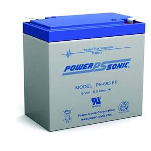 Power-Sonic PS-665 6V 6.5AH SEALED *** Discontinued ***
