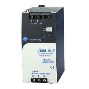 Allen-Bradley 1606-XLE240EE Power Supply, Essential, 240W, 24-28VDC Output, 180-264VAC Input, 1PH
