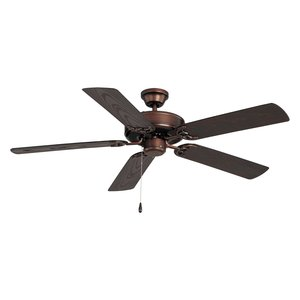 "Maxim Lighting 89915OI 52"" Outdoor Ceiling Fan, Oil Rubbed Bronze Finish"