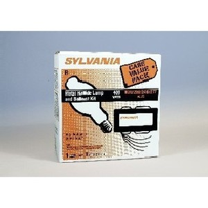 SYLVANIA M400/U-LAMP/SUPER5-BALLAST-KIT Magnetic Core & Coil Ballast, Metal Halide, 400 Watt, 120-277/480 Volt *** Discontinued ***