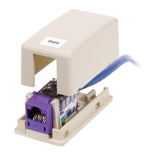 Hubbell-Premise ISB1OW HOUSING, SURFACE MOUNT,1 PORT,OW