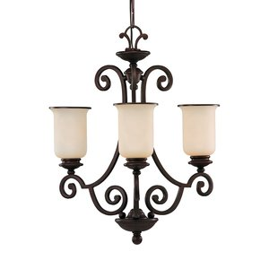 Sea Gull 31145-814 SEA S31145814 CHANDELIER MISTED BRONZE