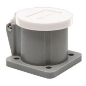 Leviton 16S31-W Male/Female, Thermoplastic Housing and Cover, White *** Discontinued ***