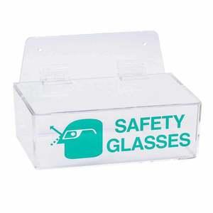 2011L PRINZING SAFETY GLASS HOLDER W/LID