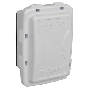 CKPSWCN 1G IN USE COVER XDUTY WHITE W/P