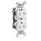M8300-SGW WH REC DUP HG TR 20A125V