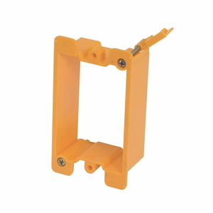 Eaton B-Line BB10P PLASTIC COVER PLATE MOUNTING BRACKET, SINGLE GANG