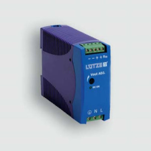 Lutze 722754 Single-Phase Power Supply, DRA60-24A