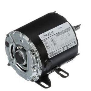 Marathon Motors 5KH32FNB291S Motor,  1/4HP, 1725/1425RPM, 48Y Base, 110-115/220-230VAC, 1PH