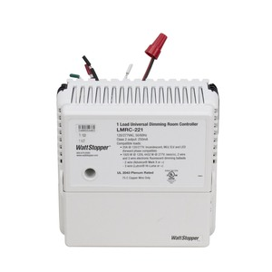 Wattstopper LMRC-221 Digital Room Controller, Dimmer, Universal