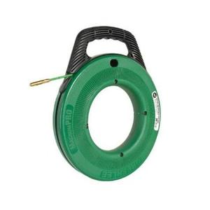 Greenlee FTF540-100 Fish Tape with Winder Case, 100'