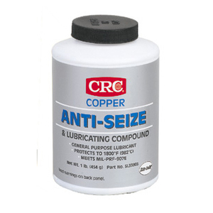 CRC SL35903 Sta-Lube Copper Anti-Seize, 16 Ounce Brush-Top Bottle