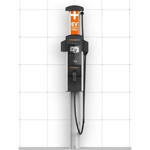 ChargePoint CT4013 Vehicle Charging Station, Level 2, Single Port, Wall Mount