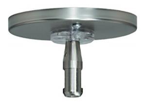 "Tech Lighting 700MOP4C02C RoundPowerFeedCanopy, MonoRail,4"",SingleFeed"