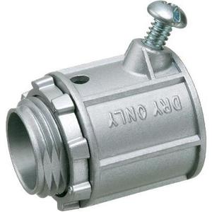 "Arlington L48 Flex Connector, 1/2"", Type: Set Screw, Zinc Die Cast"